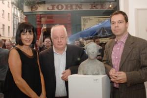 Catherine O'Riordan, Jim Sheridan, and Oliver Sears
