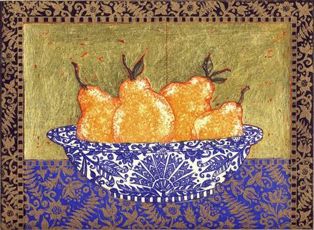 Pears, Lapis, Lazuli