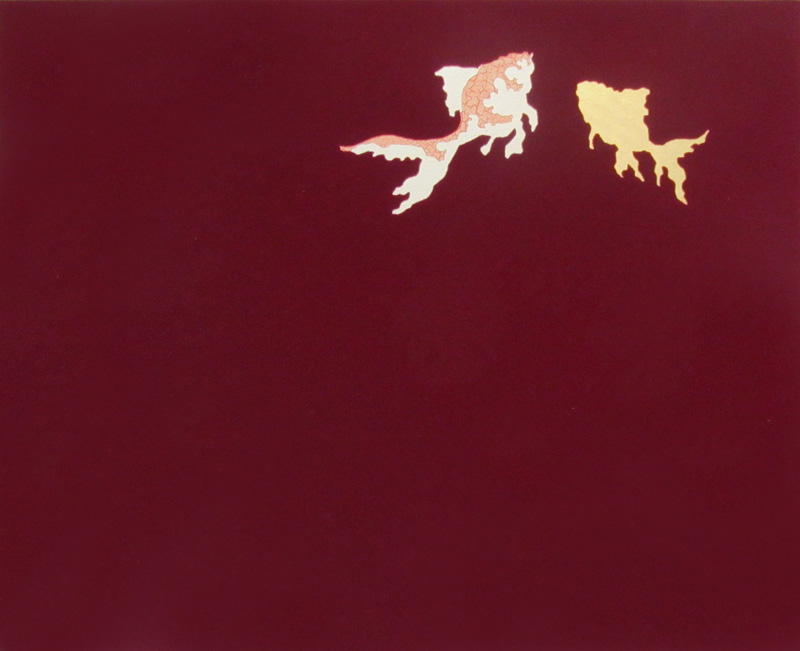 Two Goldfish – Red