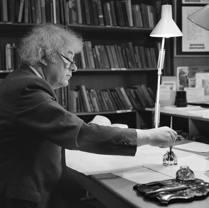 Inscription of the Poems into The Great Book – Seamus Heaney III