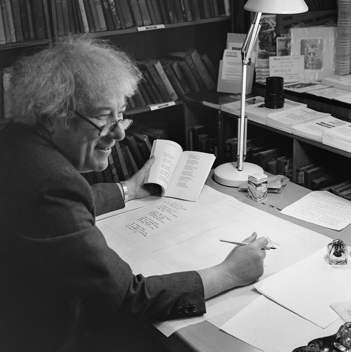 Inscription of the Poems into The Great Book – Seamus Heaney I