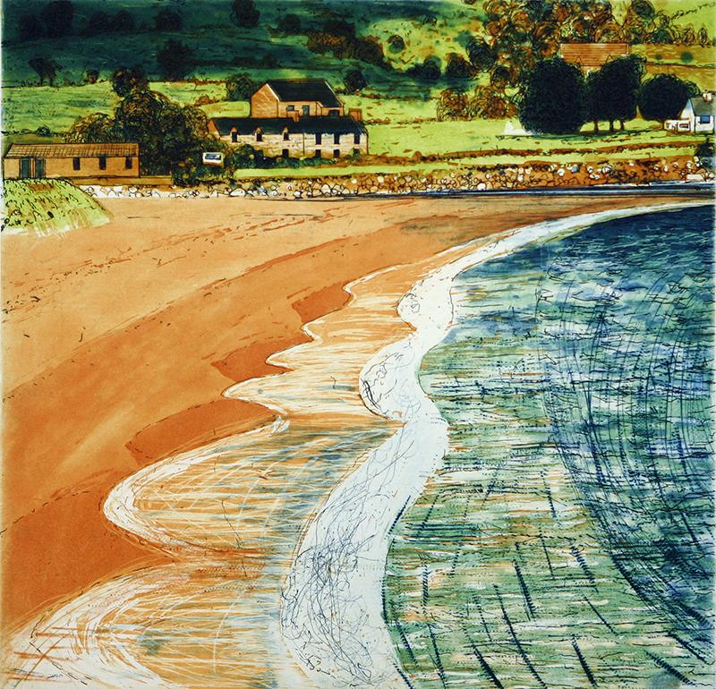 Ballyquin Beach and Houses
