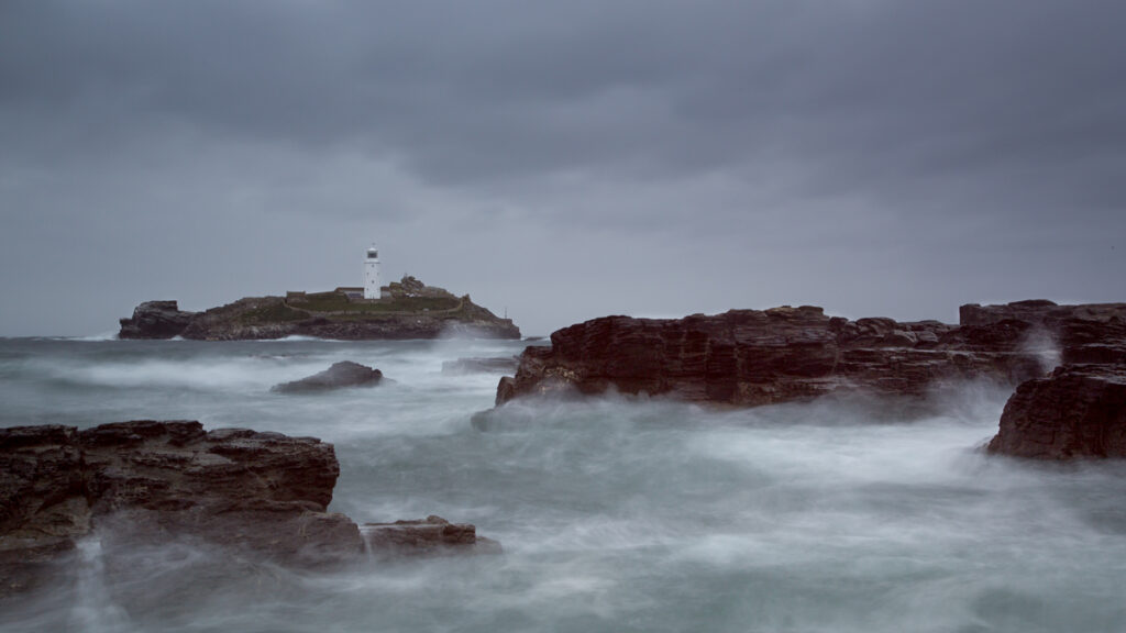 Lighthouse in a Squall