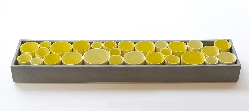 Yellow and Grey Box Set