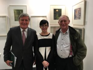 Dan mulhall, catherine, norman ackroyd