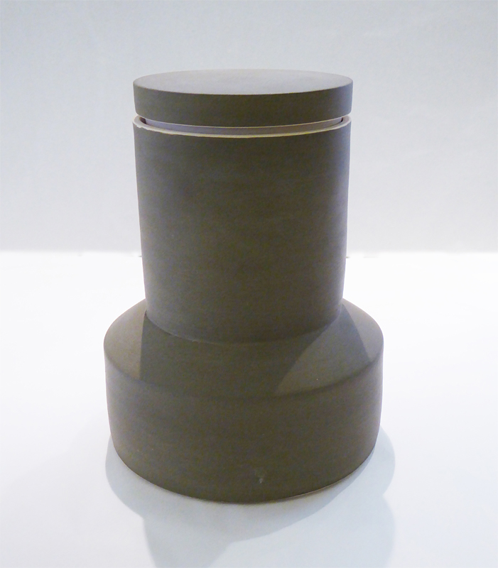Tapered Container, Olive