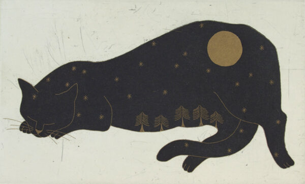 Yoko Akino - The cat and the moon