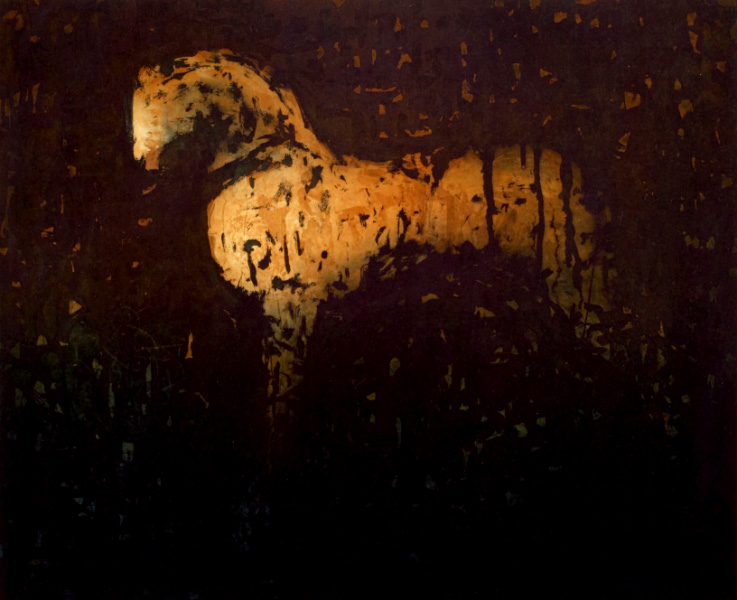 Ochre Horse [SOLD OUT]