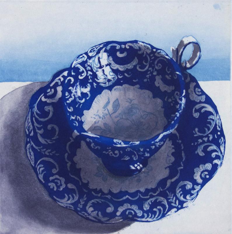 Barogue Blue Cup