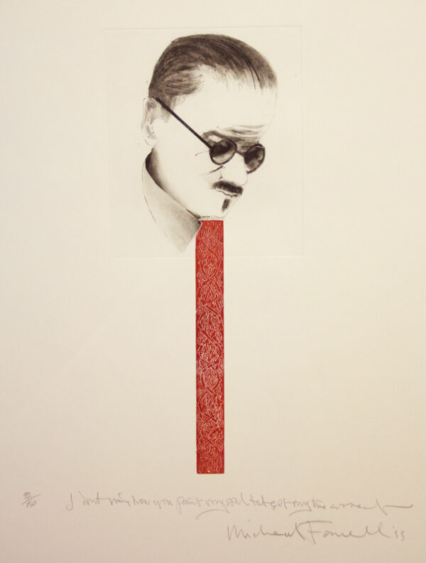 Michael Farrell - Untitled (Red Tie)