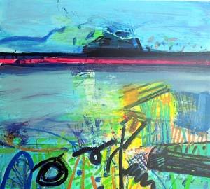 Barbara Rae, Achill Beach