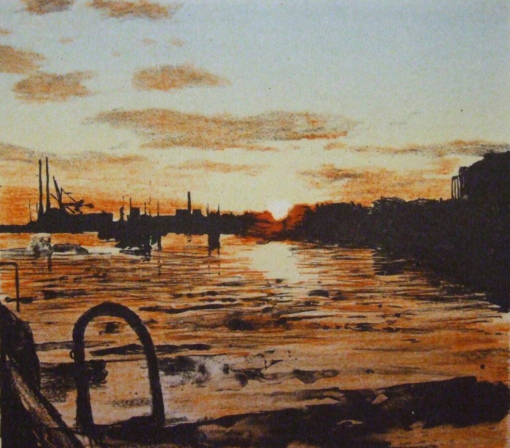 Docklands, Sunrise