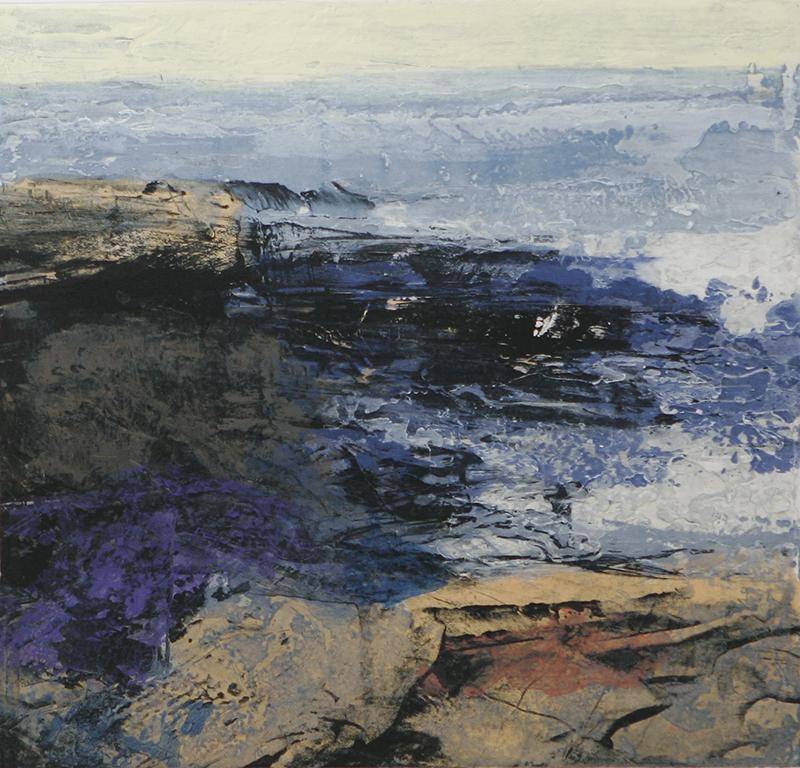 Fractured Shoreline III