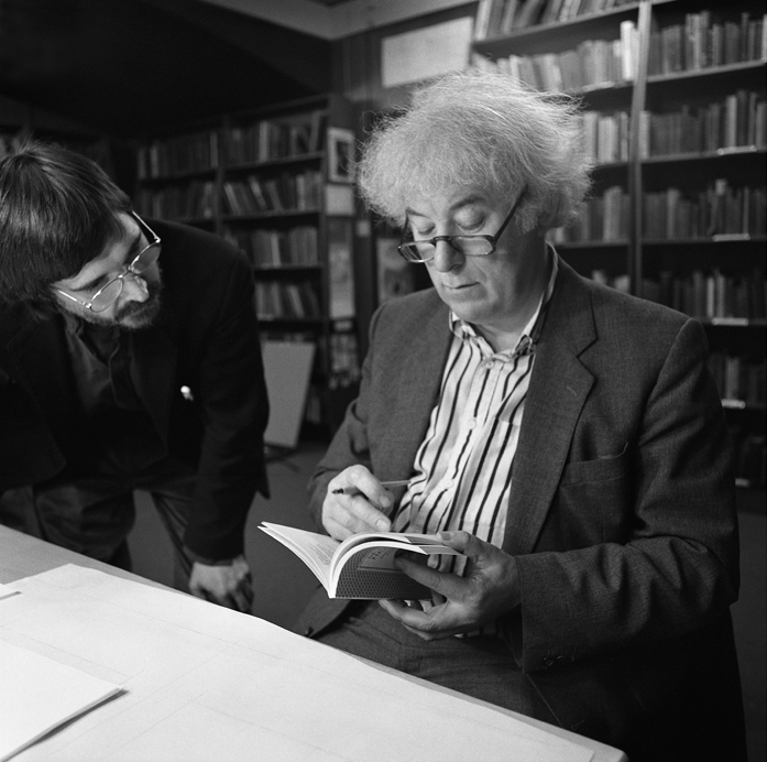 Inscription of the Poems into The Great Book – Seamus Heaney IV