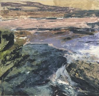 Fractured Shoreline II