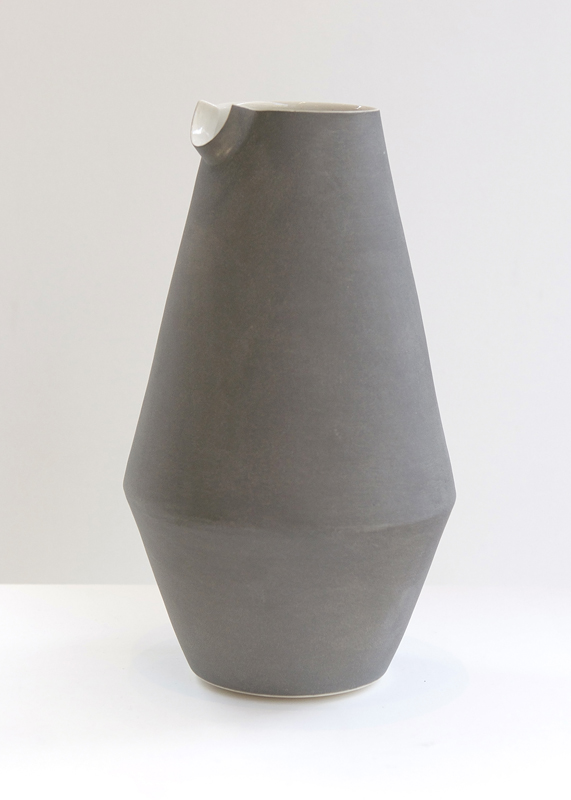 Grey Water Pitcher