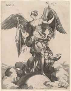 Domenico del Barbiere Gloria after Rosso Fiorentino