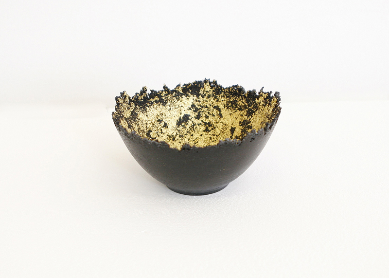 Small Gilded Vessel