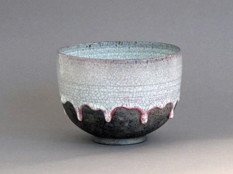 Small Smoke Fired Bowl - SOLD