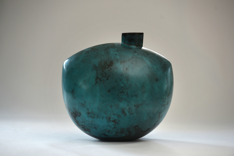 Copper Green Vessel