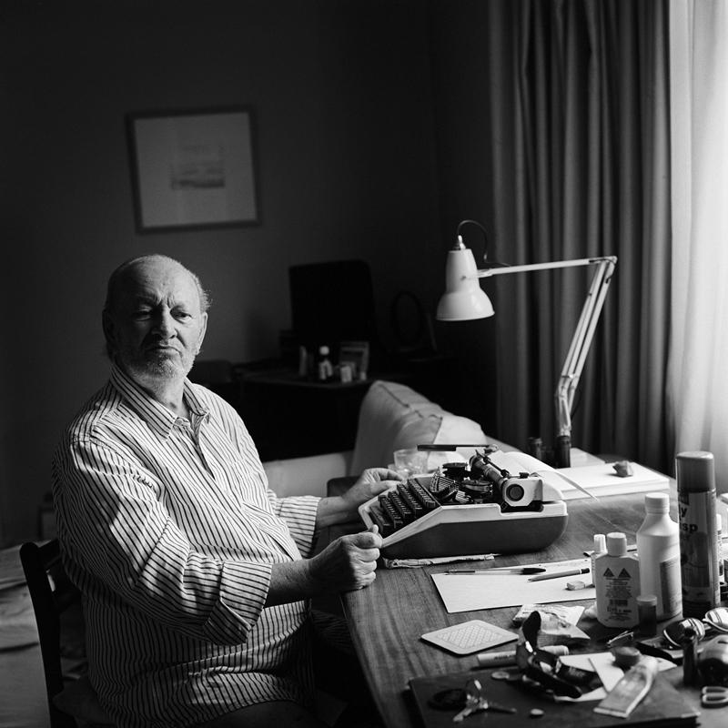 Poet Derek Mahon