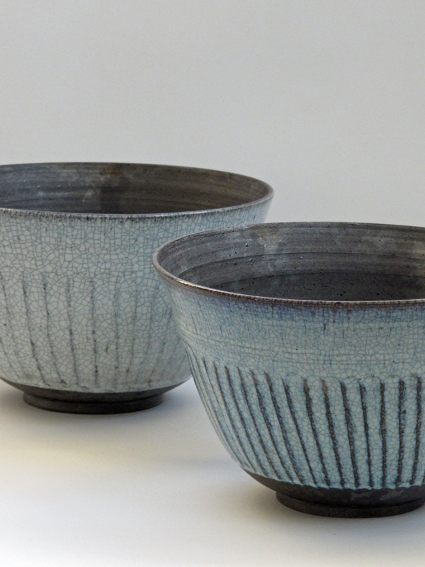 Large smoke-fired bowls SOLD
