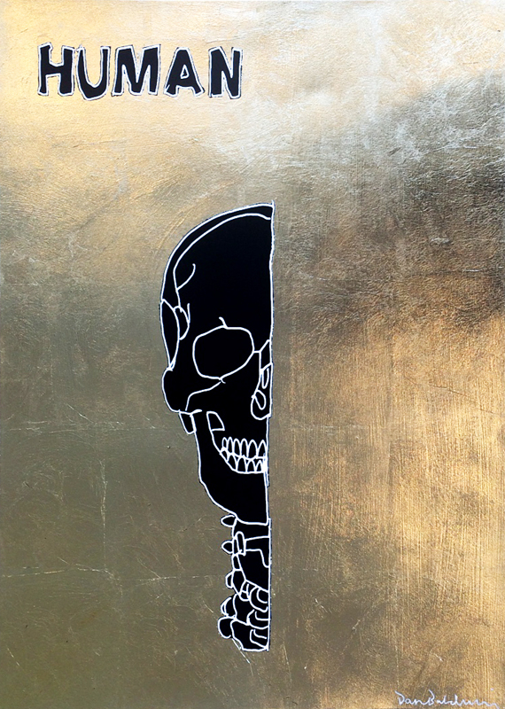 Human (gold leaf version)