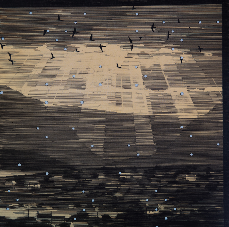 Crepuscular Rays with Starlings-web - SO Fine Art Editions ...