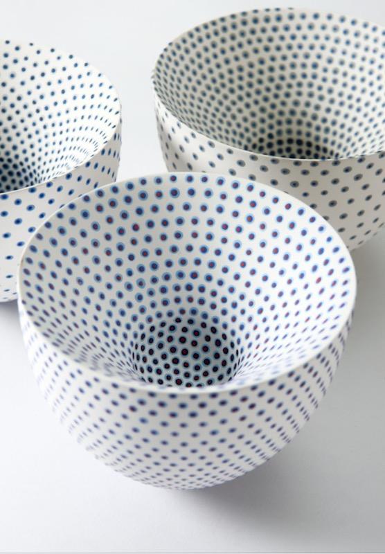Porcelain double-walled Vessel I, II, III [SOLD]