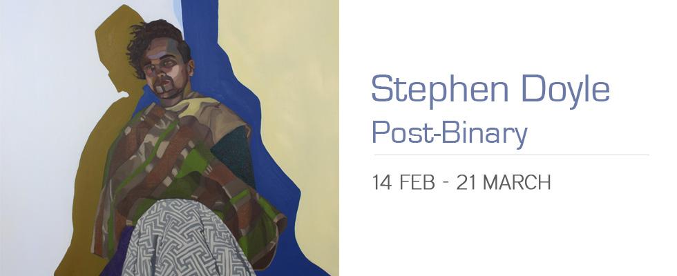 Stephen Doyle, Post Binary Art Exhibition