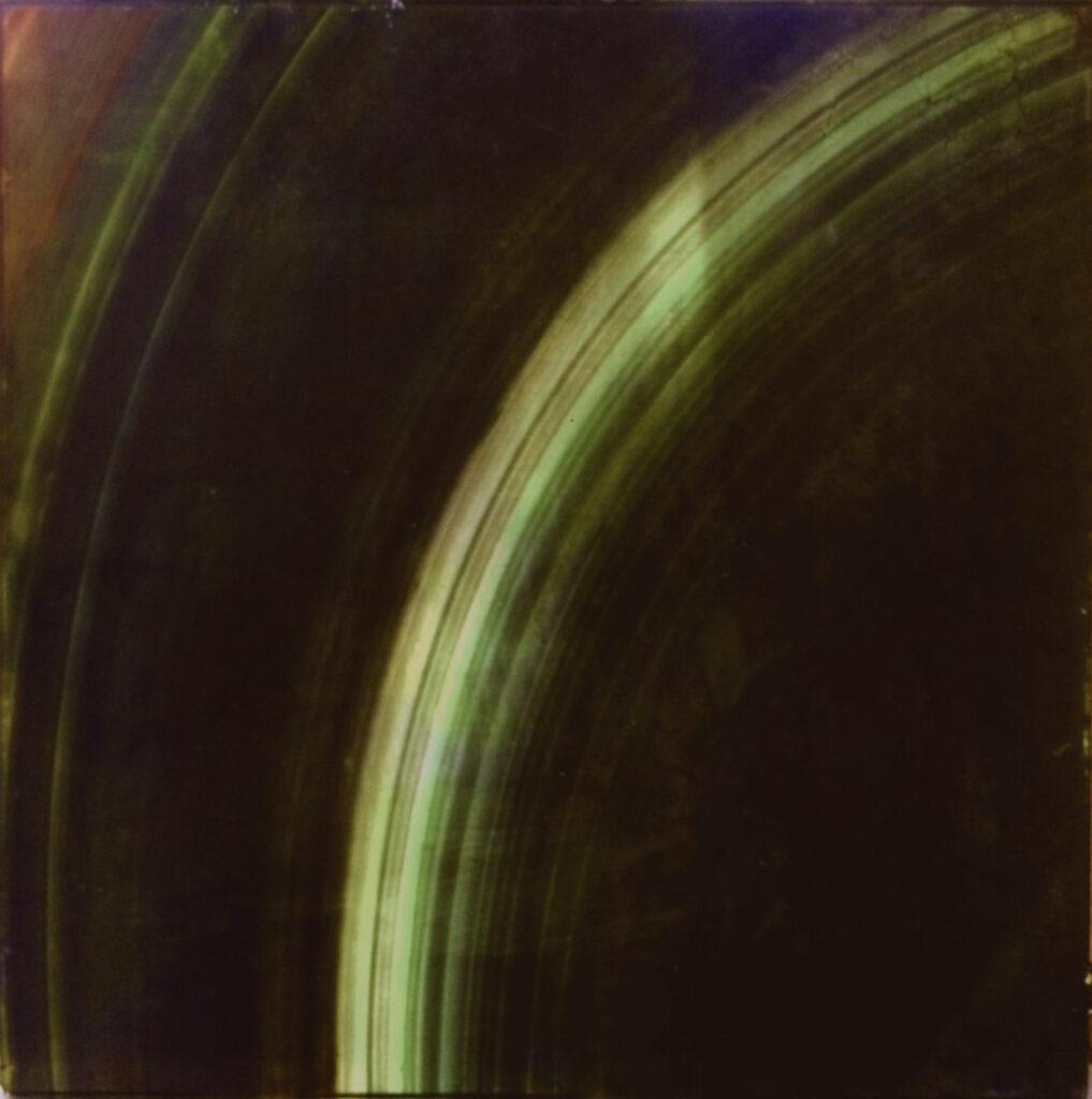 Green Rings Saturn