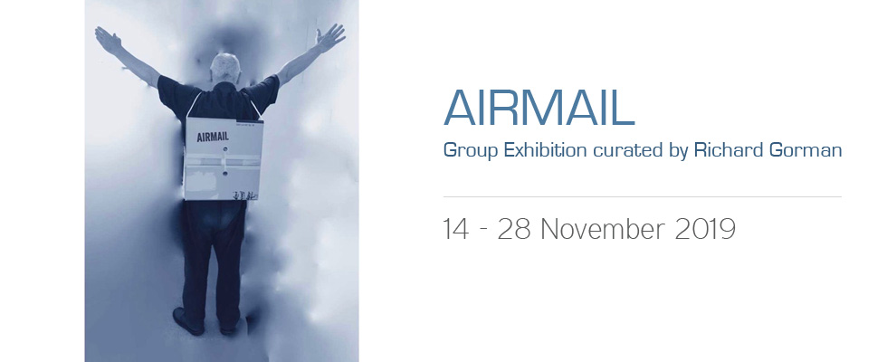 Airmail Art Exhibition by Richard Gorman
