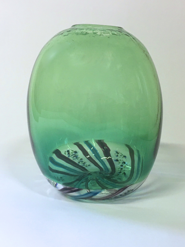 Echinoderm/Urchin Vessel Green (Tall)