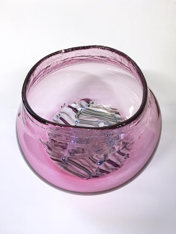 Echinoderm/Urchin Vessel Pink (Large)