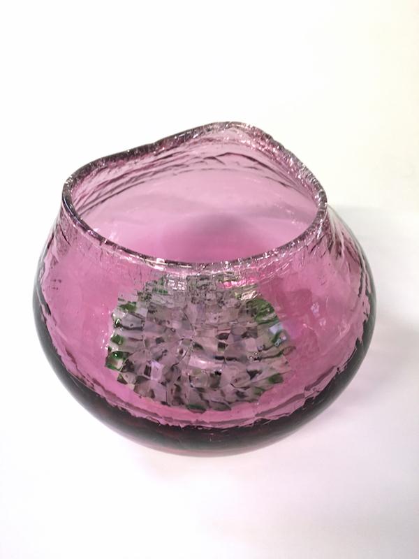 Echinoderm/Urchin Vessel Pink (small)
