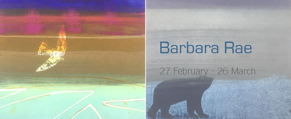 Barbara Rae Crossing Borders Art Exhibition