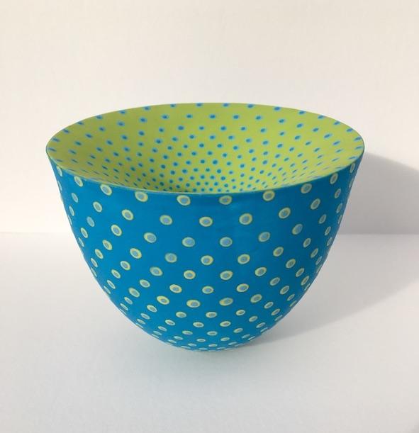 Vortex Vessel (Turquoise\Lime)