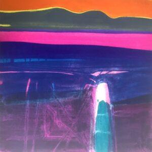Icon Stone West, Polymer Gravure, size : image 38 x 38, paper 68.5 x 56 cm WEB