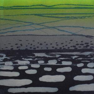 SEA ICE- LANCASTER SOUND Etch & Relief 2018 WEB