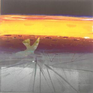 Sea Ice - Prince Leopold Monotype 38 x 38 : 2020 WEB