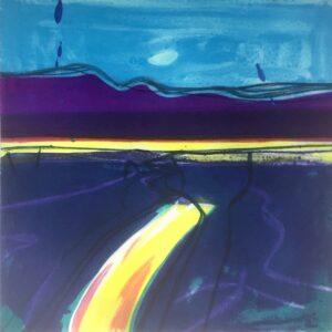 Sea Path, Polymer Gravure, size : image 38 x 38, paper 68.5 x 56 cm WEB