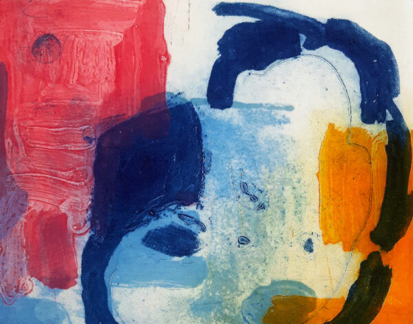 Mary A Fitzgerald - Pink & Blue & Yellow