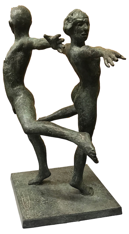 Two Dancers [SOLD]