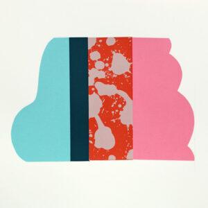 Cloud COPY 30cm h x 35cm w Mary O'Connor Limited edition silk screen print
