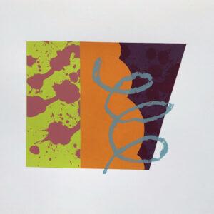 Pop 30cmH x 35cmW Mary O'Connor Limited edition silk screen print