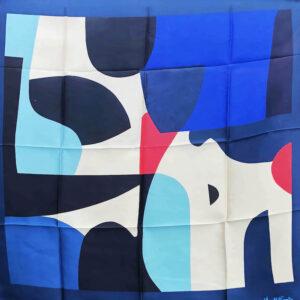 Ripple Silk scarf Mary O'Connor1