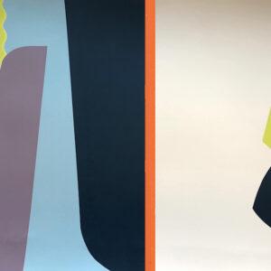 Sonar IV.jpg 50cm h x 70 wMary O'Connor Limited edition silk screen print