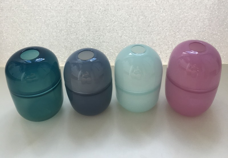 Double Bubble Vases (Opaque)