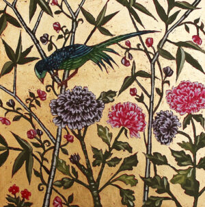 Jean Bardon - Bird and Flower