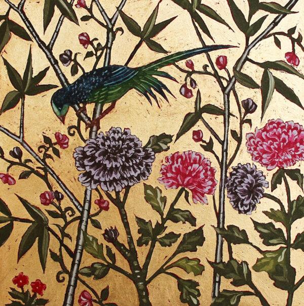 Jean Bardon - Bird and Flower